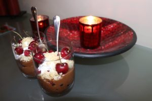 cherry-chocolate-mousse